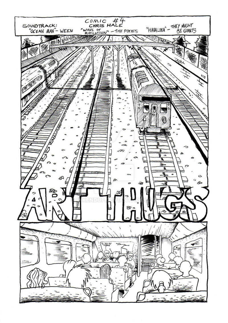 Art Thugs 4 pg01 by Inkendup