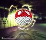 3D Origami Voltorb/Voltorbe
