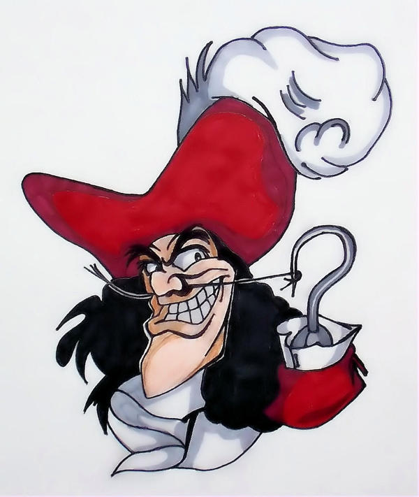 Captain Hook by TheJokesOnYou on DeviantArt