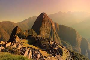 Sunrise Over Machu Picchu by FlowerRoad