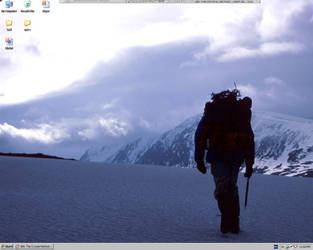 Backpacking Desktop by gnatcage