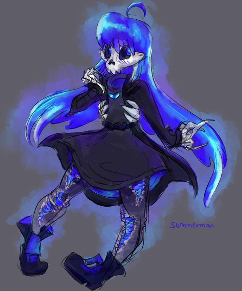 oh look I'm a skull by summermon