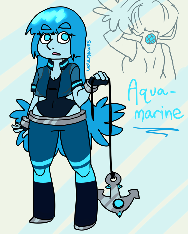 gemsona aquamarine by summermon