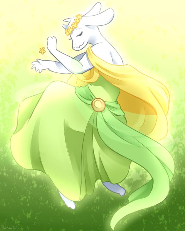 Reapertale Toriel by PiplupCRAZYgirl
