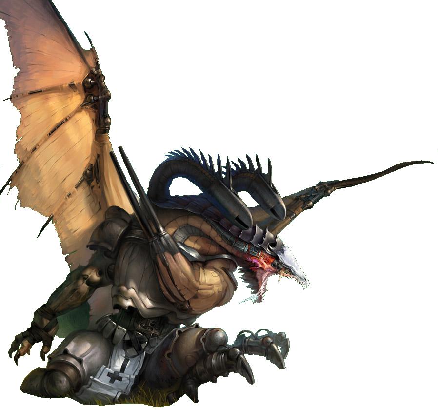 25 Renders Dragons Mangas/Réel Dragon_Render_6_by_Cygnux