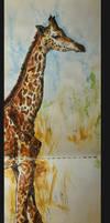 Giraffe by Grafik-e