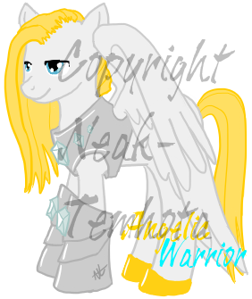 Angel Warrior Pony by Neak-Temhota