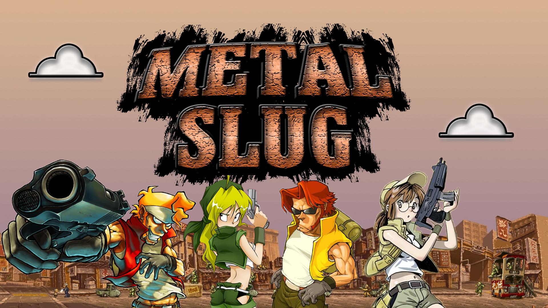 Metal Slug Wallpaper By Tonyzex1995 On Deviantart