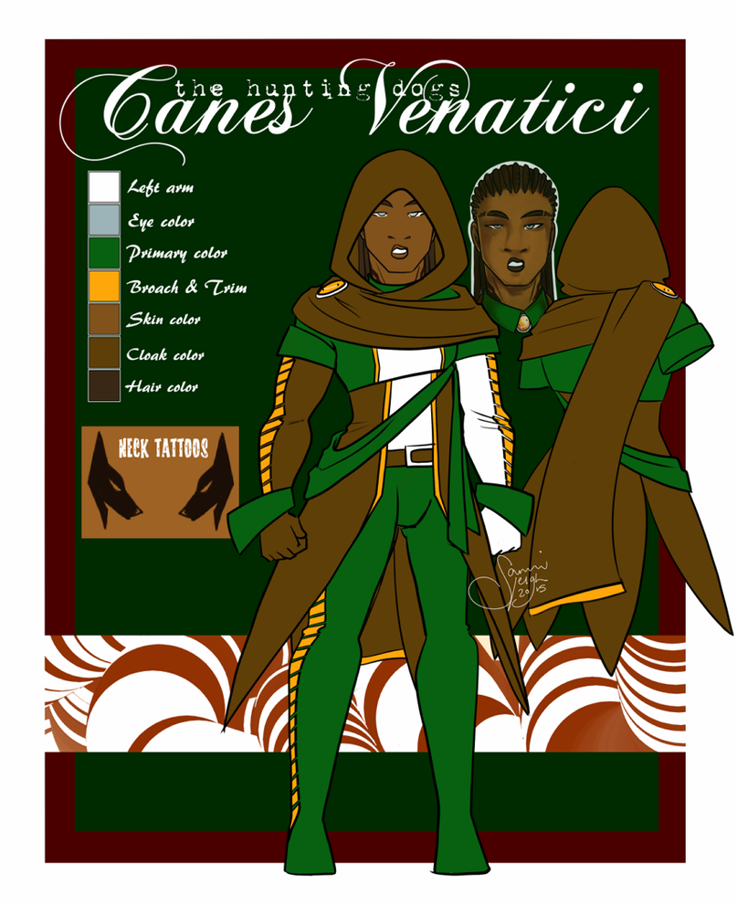 Canes Venatici (Barus Nerynus) by rennegades