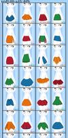 Sailor Senshi Style: Skirts