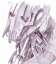 General Grievous - bust - by rennegades
