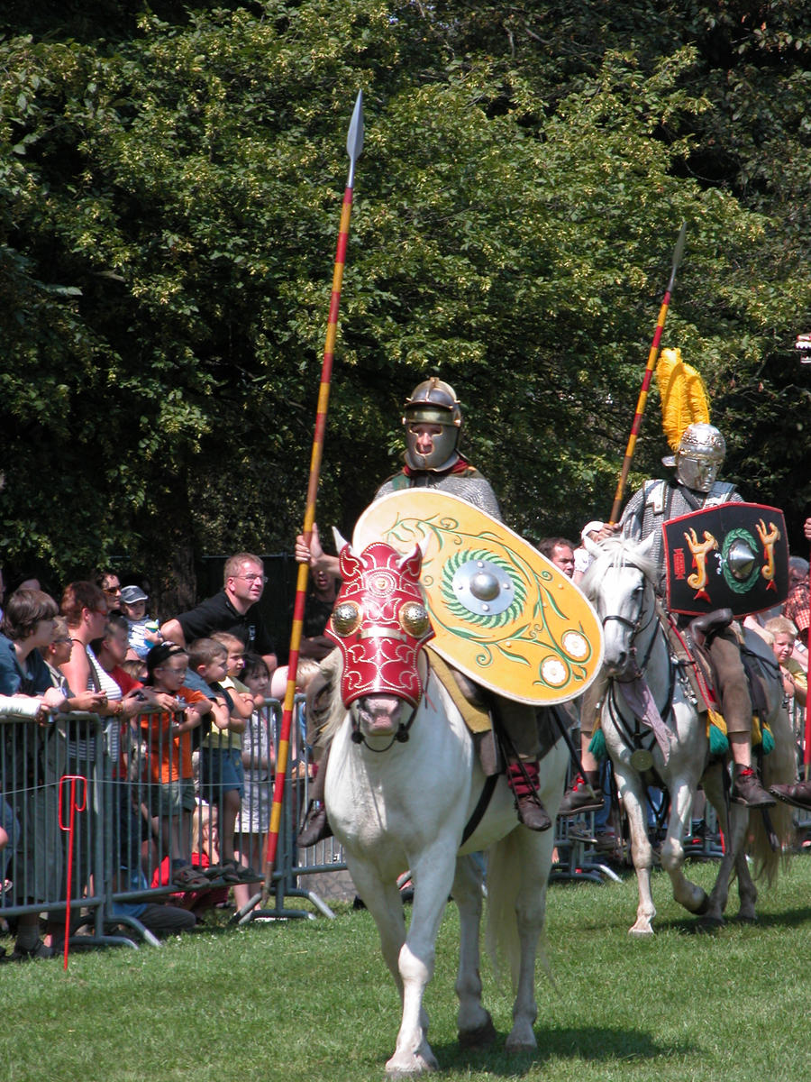 Roman Cavalry - Enlisted by Lauren-Lee