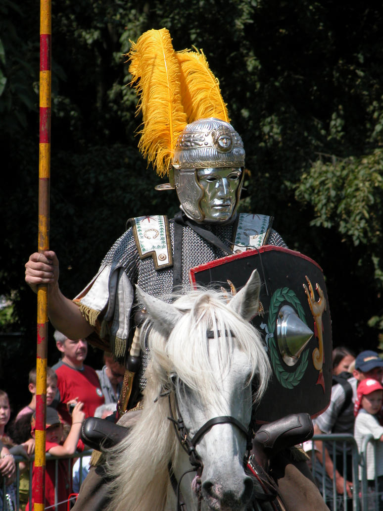 Roman Cavalry - Officer by Lauren-Lee