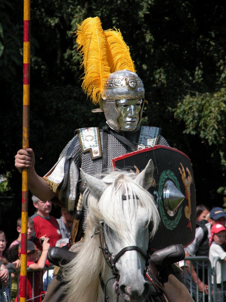 Roman Cavalry - Officer by Lauren-Lee