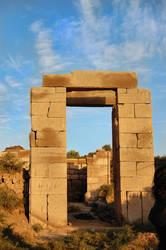 Temple at Karnak 26 by Lauren-Lee
