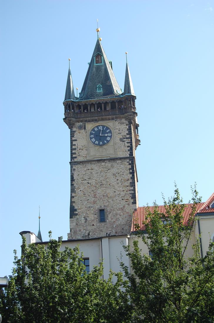 Tower - Prague by Lauren-Lee