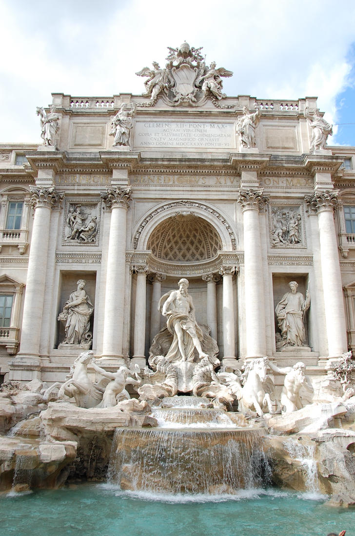 Rome - Trevi Fountain 11 by Lauren-Lee