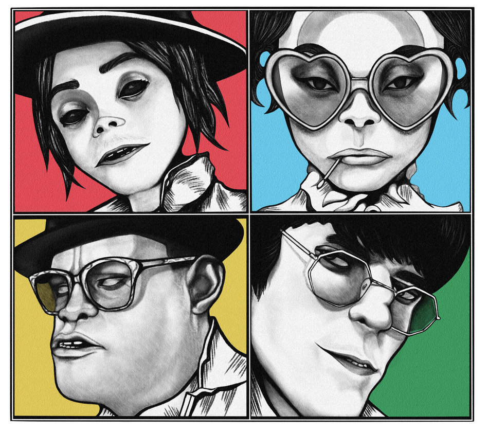 HUMANZ by TheNastyW0rld
