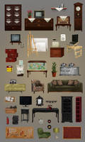 Home Decors // gameart