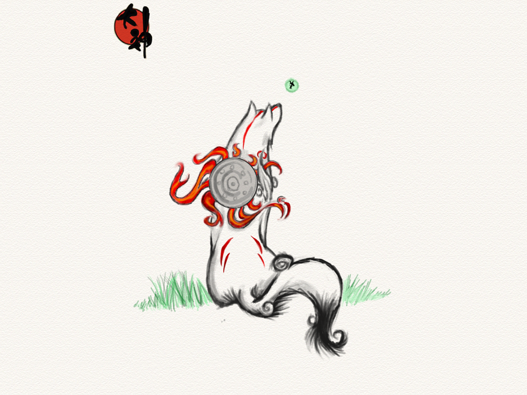 Another Okami Wallpaper By KratosAurion29