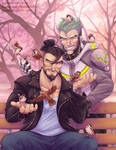Hanzo Goes to Therapy Zine : Feeding sparrows