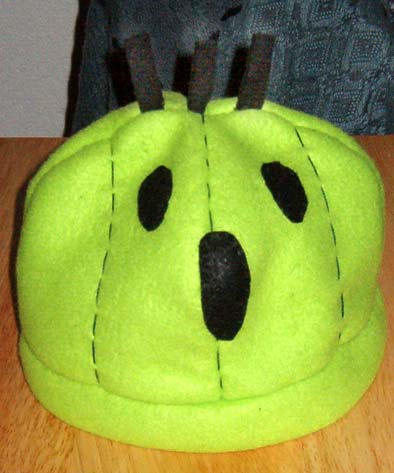 Cactuar hat by malytwotails