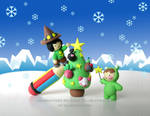 ::BLACKMAGO'S CHRISTMAS:: by unicornstrike