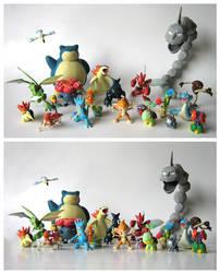 Gotta catch them all: II by unicornstrike