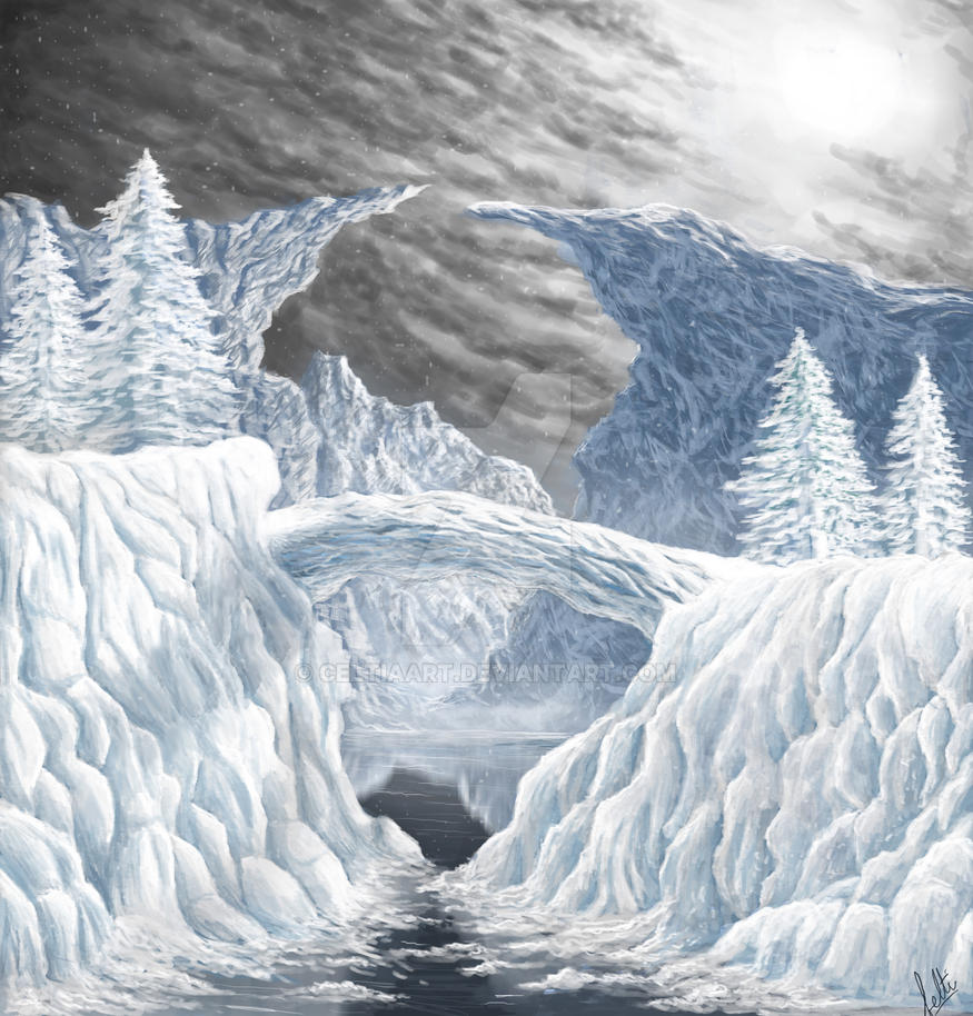 Ice Bridge by CeltiaArt