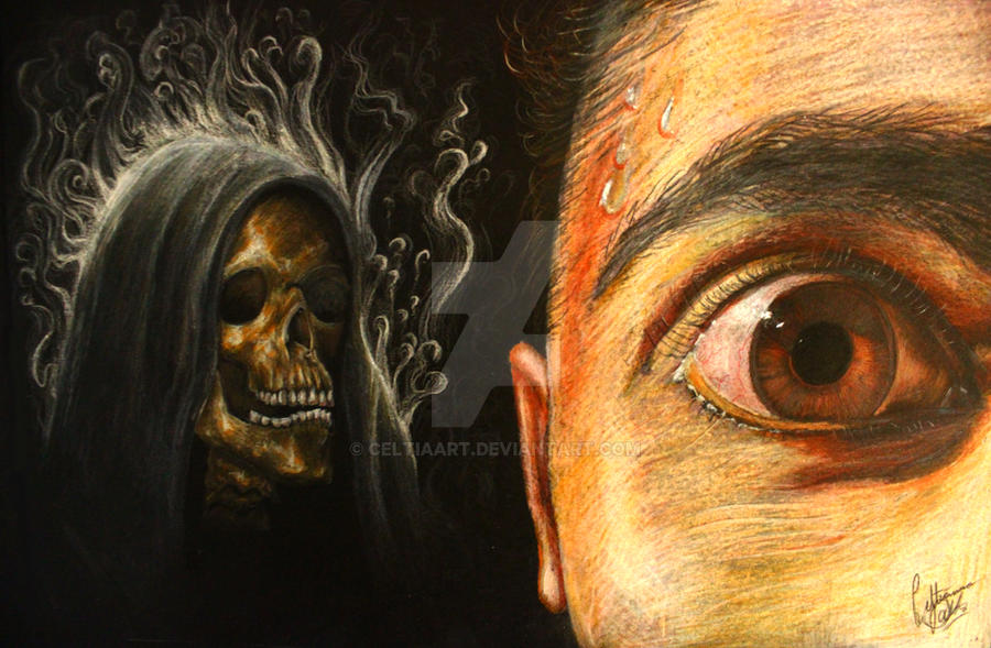 Fear of the Dark by CeltiaArt