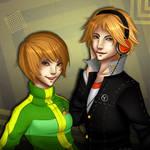 P4 - Chie and Yosuke