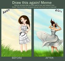 Draw this again meme by CypressPhoenix