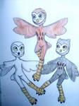 The Three owls!
