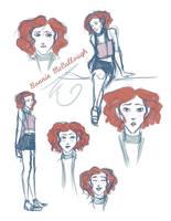 Bonnie McCullough sketches