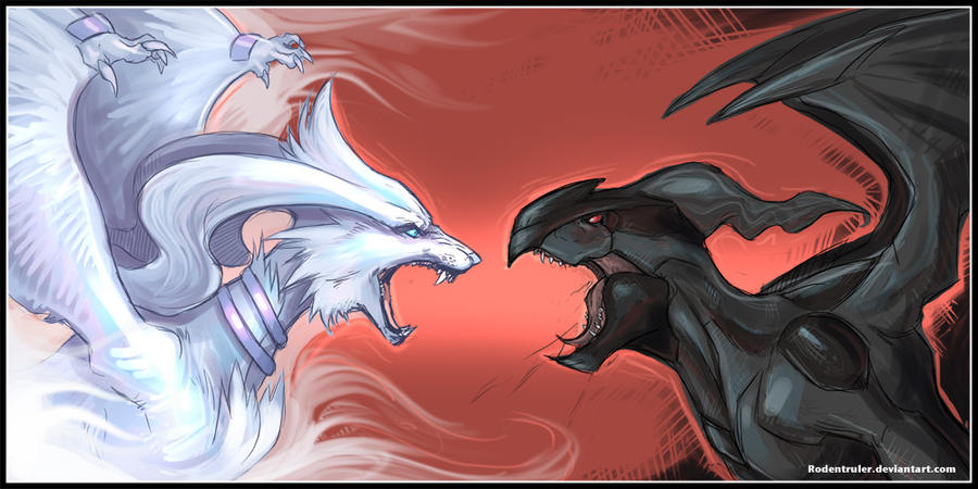 pokemon black and white zekrom vs reshiram