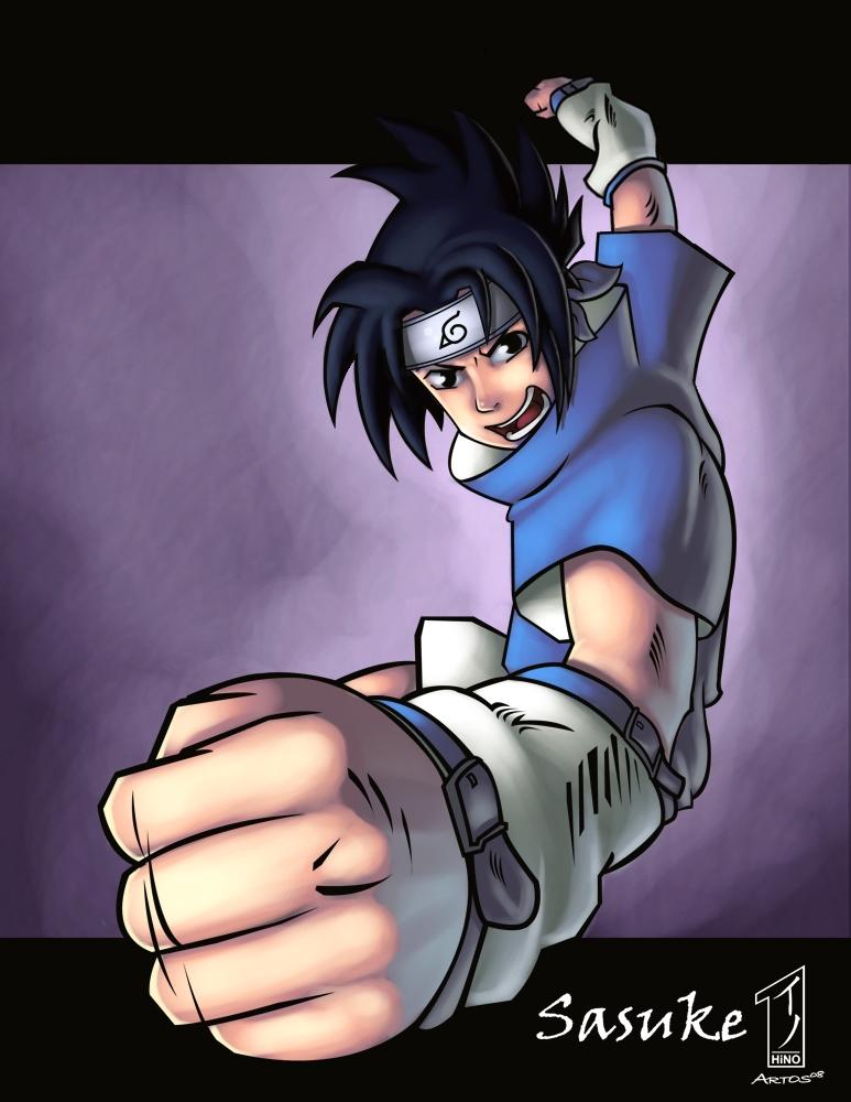 ::Naruto: Sasuke:: by NX-Crew