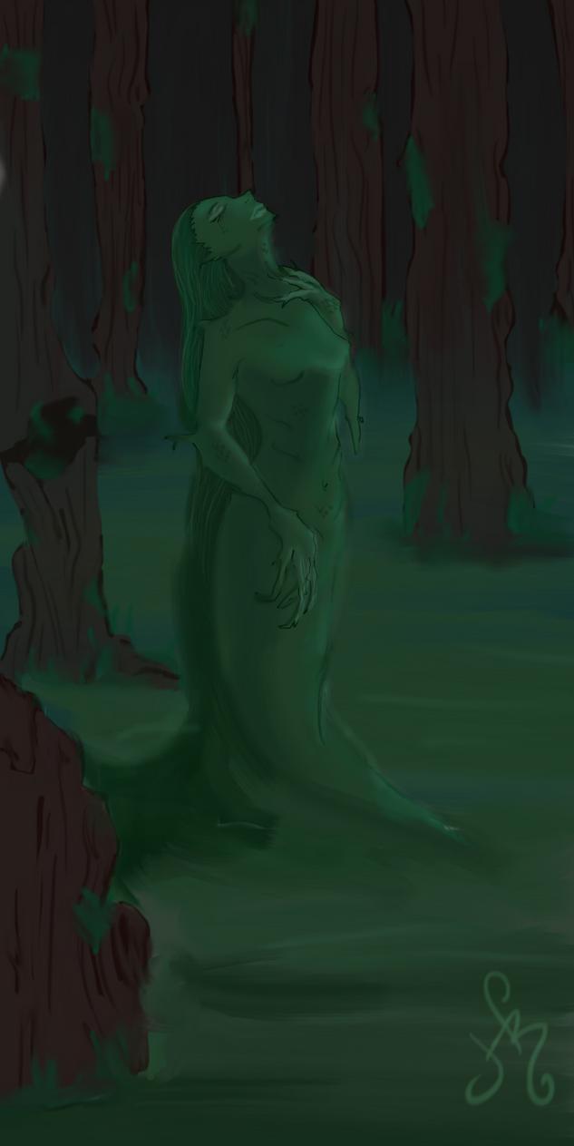 Mermaid Swamp by Hazel-ShitHappens