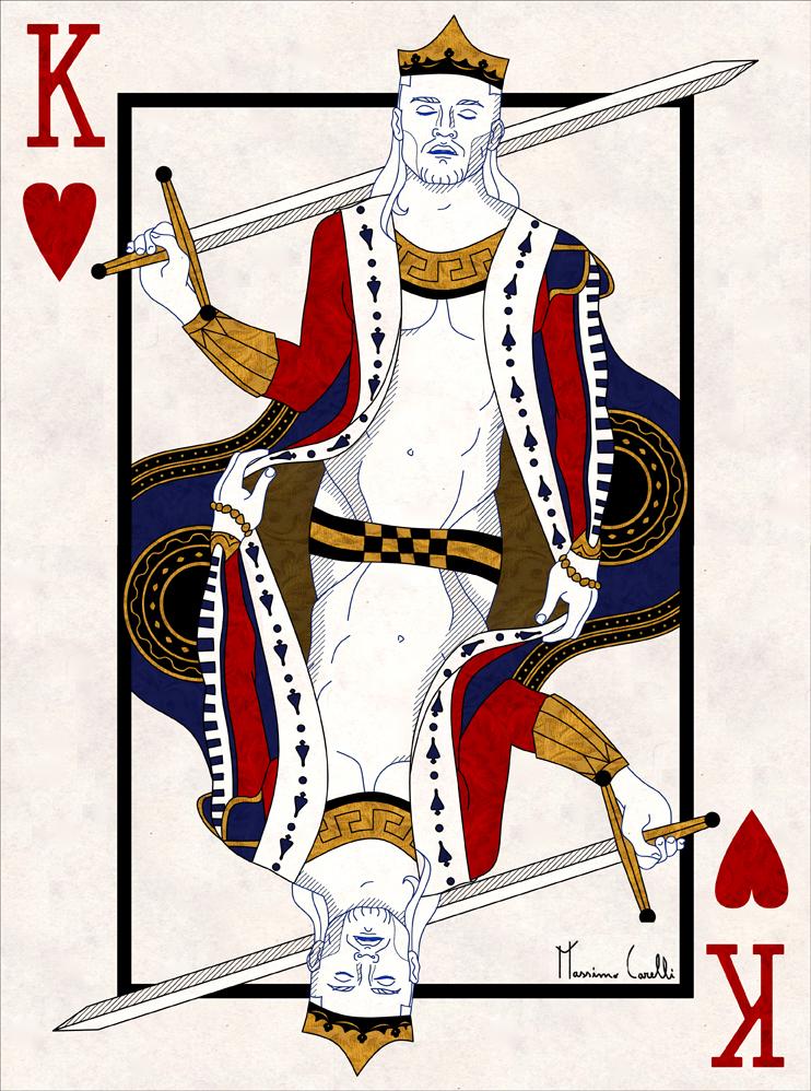 Francois Sagat King Of Hearts By Mxcnv