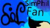Sim-Phil fanatic stamp by sim-phil