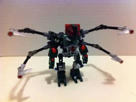 Matoran-Spider Hybrid by DarkCrusader12