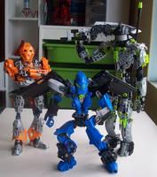 Cossy, Stryker, and Galaxus by DarkCrusader12
