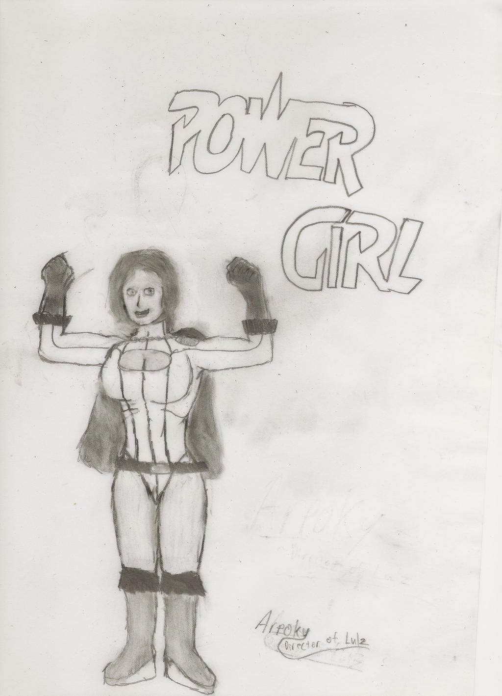 Power Girl by Arpoky by Arpoky