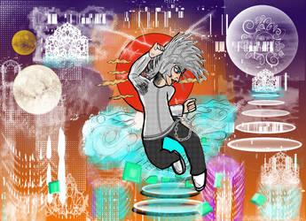 Run over Spirit - tech City by Buvium