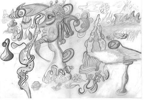 Nice and weird - sketch