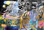 Complex harbor in a dream