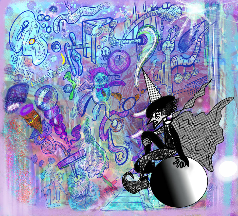 Psychedelic Sprite Refreshment