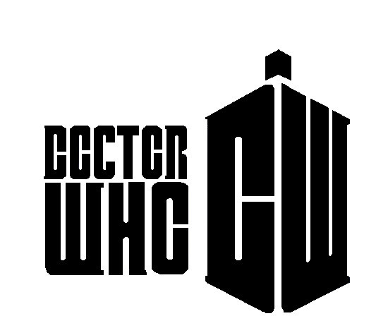 Doctor Who Logo Stencil by mcrvampire55
