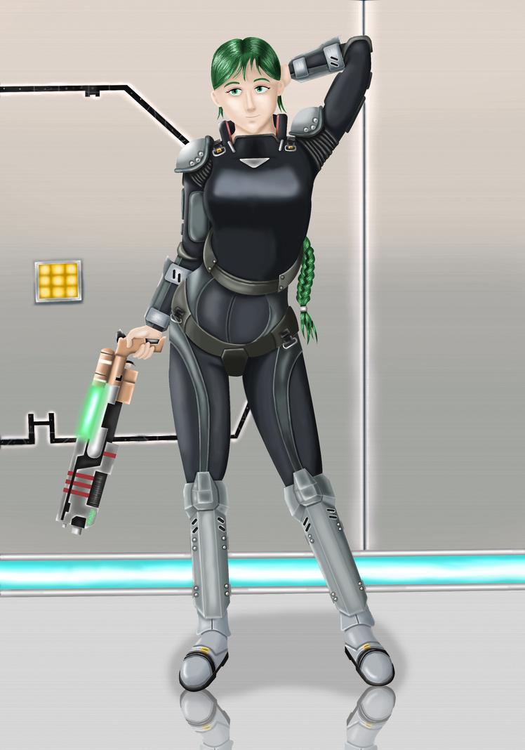 EOTA - Catalina Frost w. Combat Suit + Snow Queen
