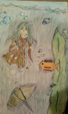 This is bubbles underwater! (OC) by Linx9