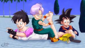 Dragon Ball Tickling